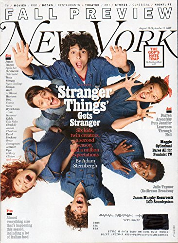 New York 2017 Magazine SPECIAL ISSUE: FALL PREVIEW ON TV, MOVIES, POP, BOOKS, RESTAURANTS, THEATER, ART, STORIES, CLASSICAL, & NIGHTLIFE James Franco MAGGIE GYLLENHAAL BARES ALL FOR FEMINIST TV