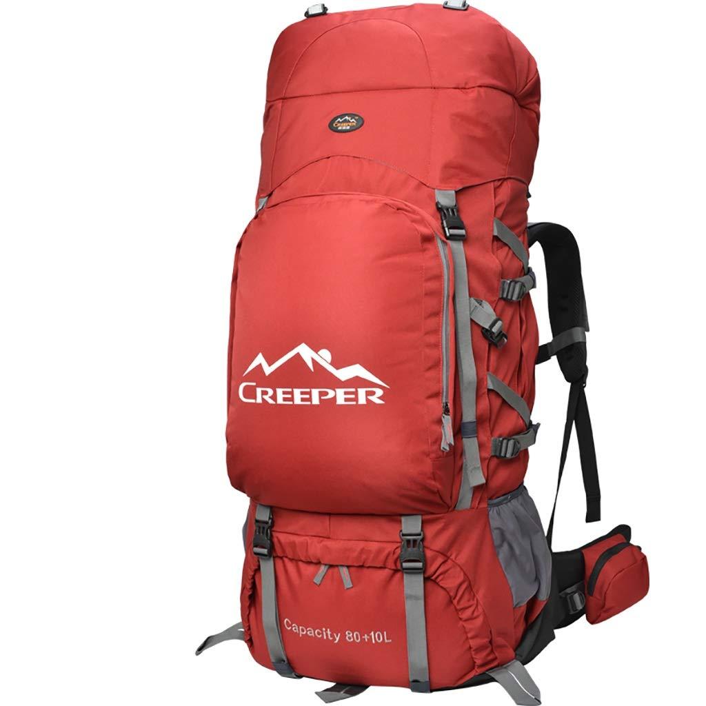 アルパインパック バックパックアウトドアスポーツ登山バッグスポーツバックパックユニセックス多機能バックパック消防救助能力90L   B07HD8SFTD