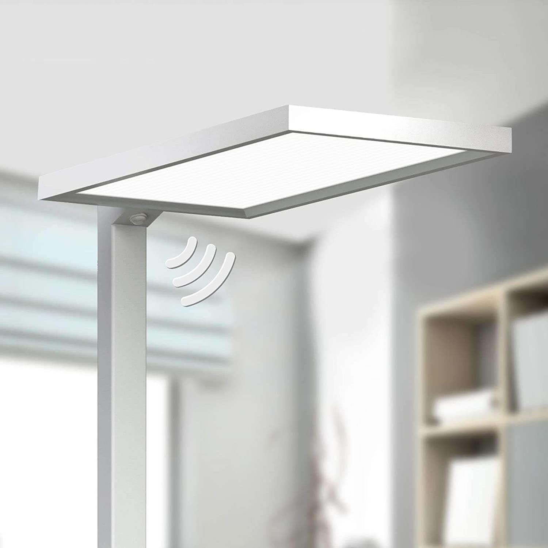 Lampenwelt Led Stehlampe Dorean Modern Aus Aluminium U A Fur