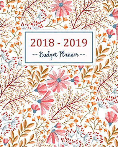 budget planner 2018 2019 daily weekly monthly 2018 2019