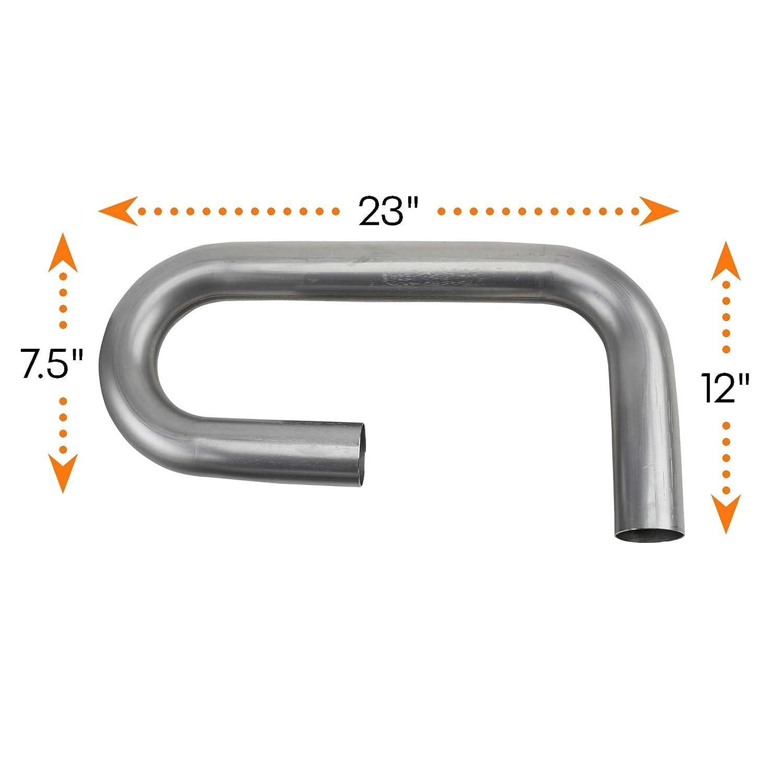 Pair 2 Inch Combo Exhaust Pipe Mandrel Bend//Header Tubing
