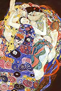 Virgin People Poster Print by Gustav Klimt, 24x36 College Poster Print by Gustav Klimt, 24x36