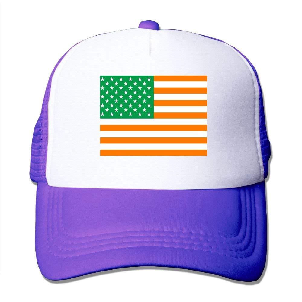 Gorra de béisbol Bandera Irlandesa de los Estados Unidos Gorro de ...