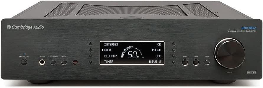 Cambridge Audio Azur 851A Integrated Class XD Amplifier - Black