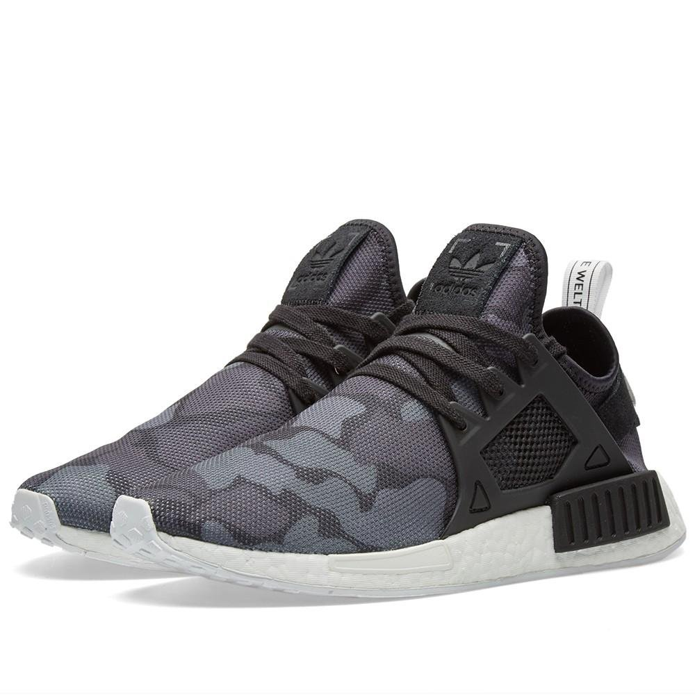 Image of Adidas Men's NMD XR1 Lace Up Sneakers #BA7231 (9.5) Basketball