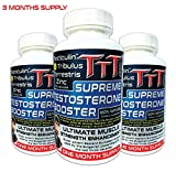 3xTTT- The Best Alternative Of The Anabolic Steroids! Supreme Testosterone Booster (270 capsules- full 3 months Testo cycle). US shipping on the second day!