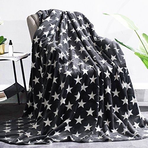 Flannel Fleece Blanket Lightweight Cozy Plush Microfiber Cou