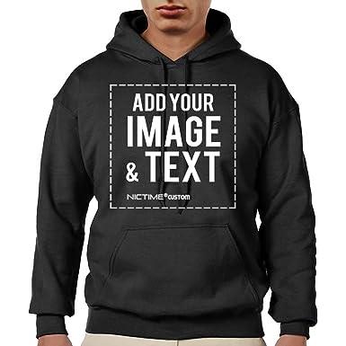 11ed2eb6b Amazon.com: Custom Hoodies for Men Design Your Own - Made Hooded ...