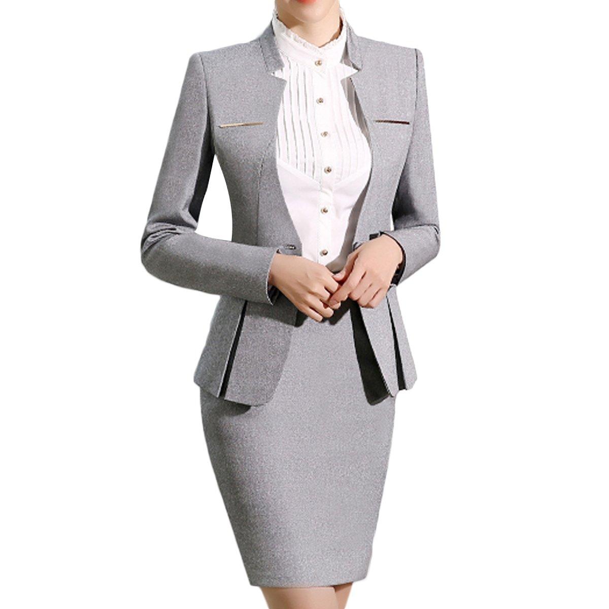 セットアップ スーツセット大きいサイズ スーツ 卒業式 長袖 結婚式 OL出勤服 スーツ スカートスーツ ビジネス服 おしゃれ 上下 洋服 レディース フォーマルスーツ セット 2点セット スーツ