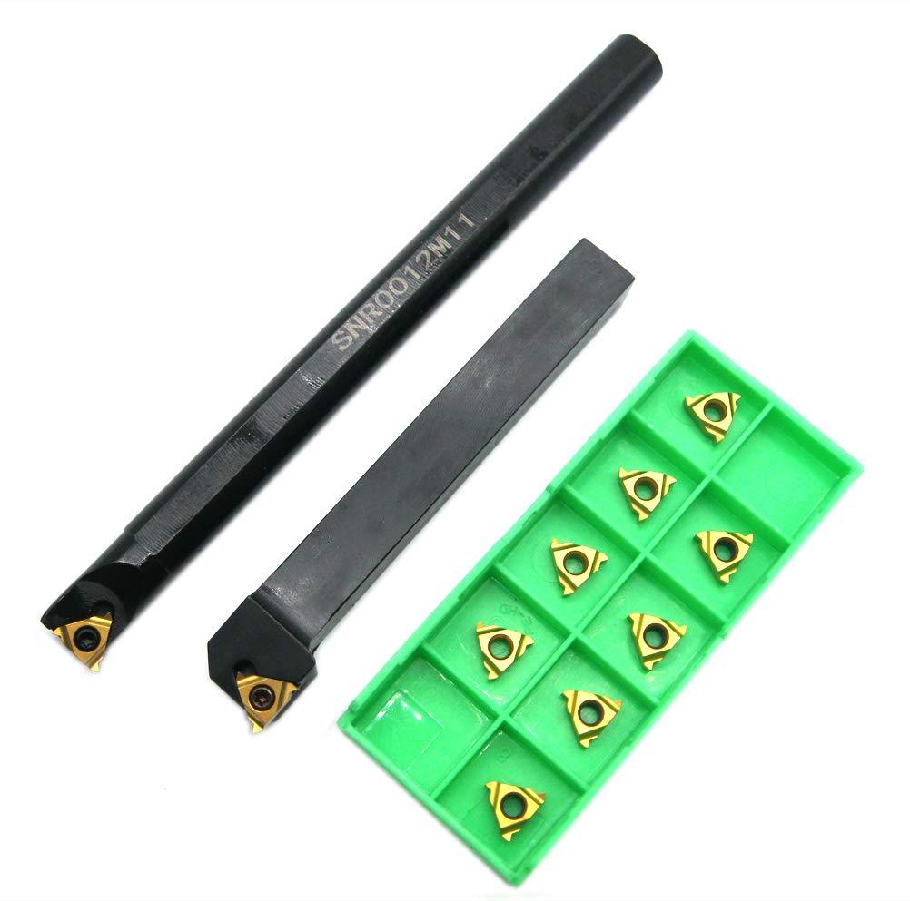 SNR0010K11 Internal Lathe Threading Boring Bar 11NL AG60 Insert Turning Tools