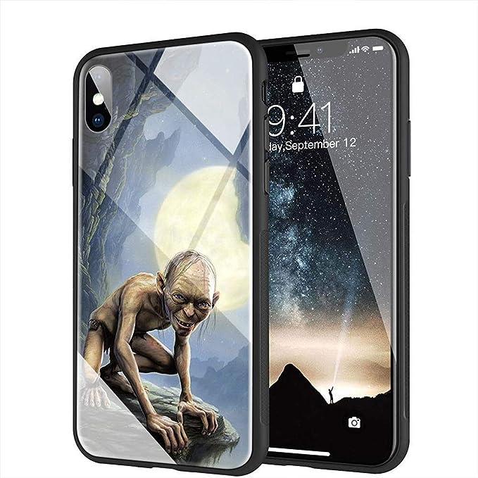 yinzongstore AMB-56 Coque pour iPhone Motif Le Seigneur des Anneaux Hobbit for iPhone X/XS 4