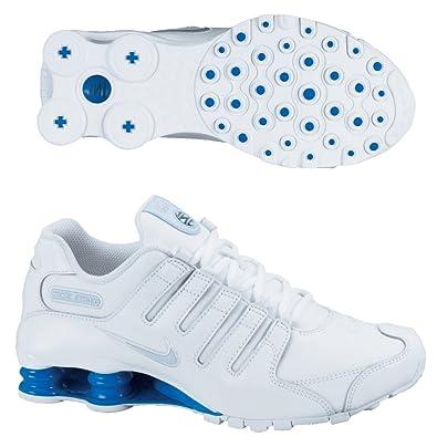 sale retailer 8c265 9b758 Nike Mens Shox Nz Premium Mesh Trainers