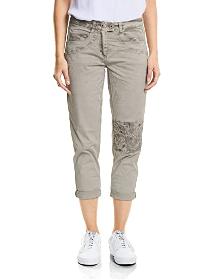 Womens 371391 New York Handcrafted Trousers, Beige (Cashew Cream 11276), 38 W/26 L Cecil