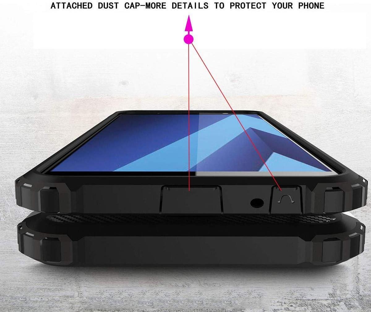 TenYll Huawei Mate 20 Lite Custodia,Protezione Antiurto per PC TPU Antiurto,Anti-Graffio,per Huawei Mate 20 Lite Custodia -Oro Rosa