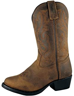 Old West 13 Inch Narrow Round Toe Cowboy Boot(Men's) -Tan Canyon Leather Explore WUlRHXu