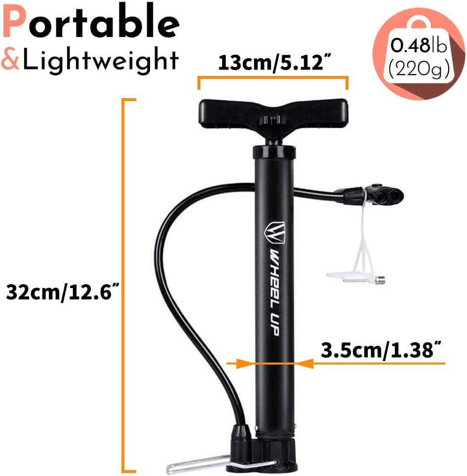 Letton Bomba de Suelo para Bicicleta, portátil, Reversible ...