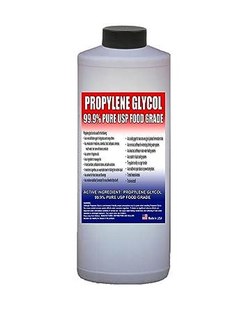 48f93f652 Amazon.com: Propylene Glycol - Food Grade USP - 1 Quart (32 Oz ...