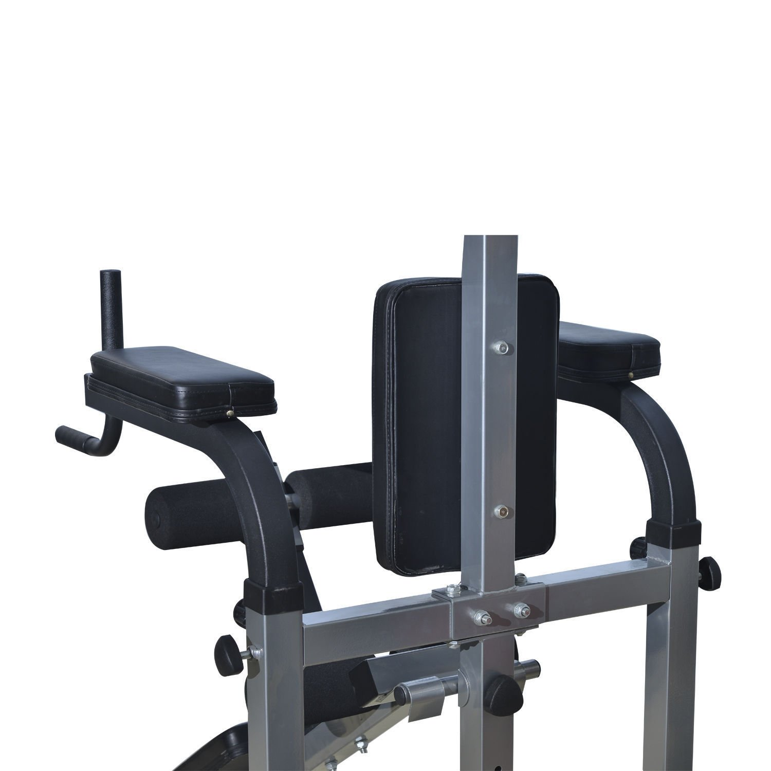 Home Gym Workout Strength Fitness Training Power Tower Dip Station Weight Bench by Happybeamy (Image #5)