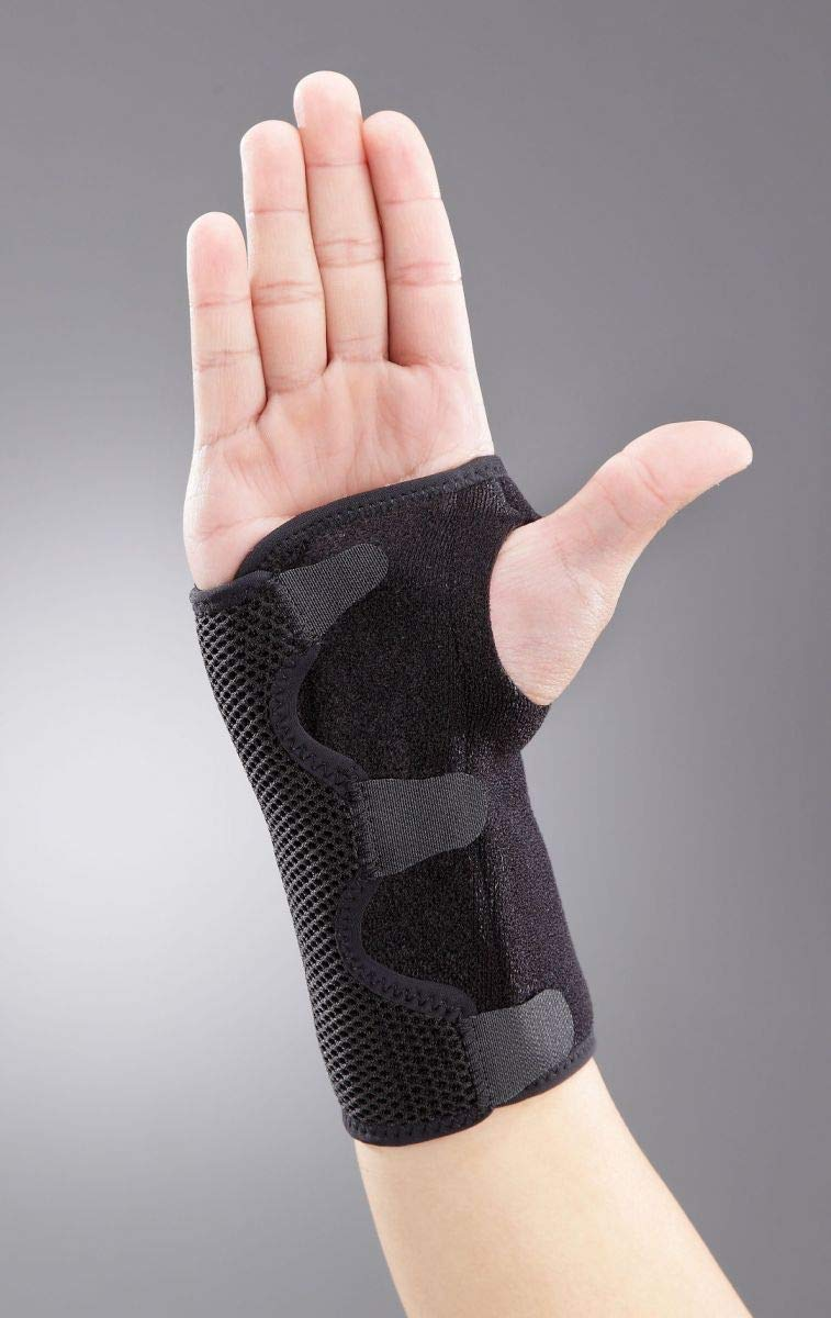 StrictlyStability Wrist Brace for Carpal Tunnel, Arthritis, Tendonitis Support Fitting Both Hands (Universal)