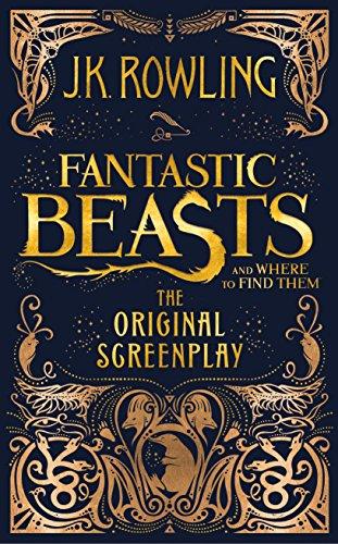 portada del guion de la película basada en J.K Rowling