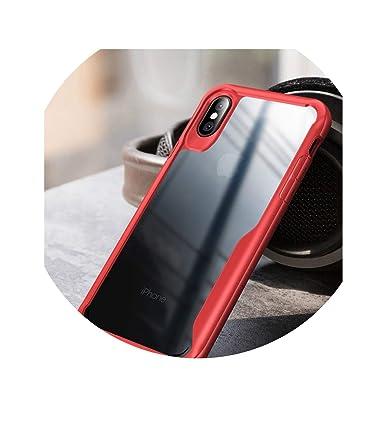 Amazon.com: xczwx - Carcasa de silicona para iPhone Xs XR 8 ...