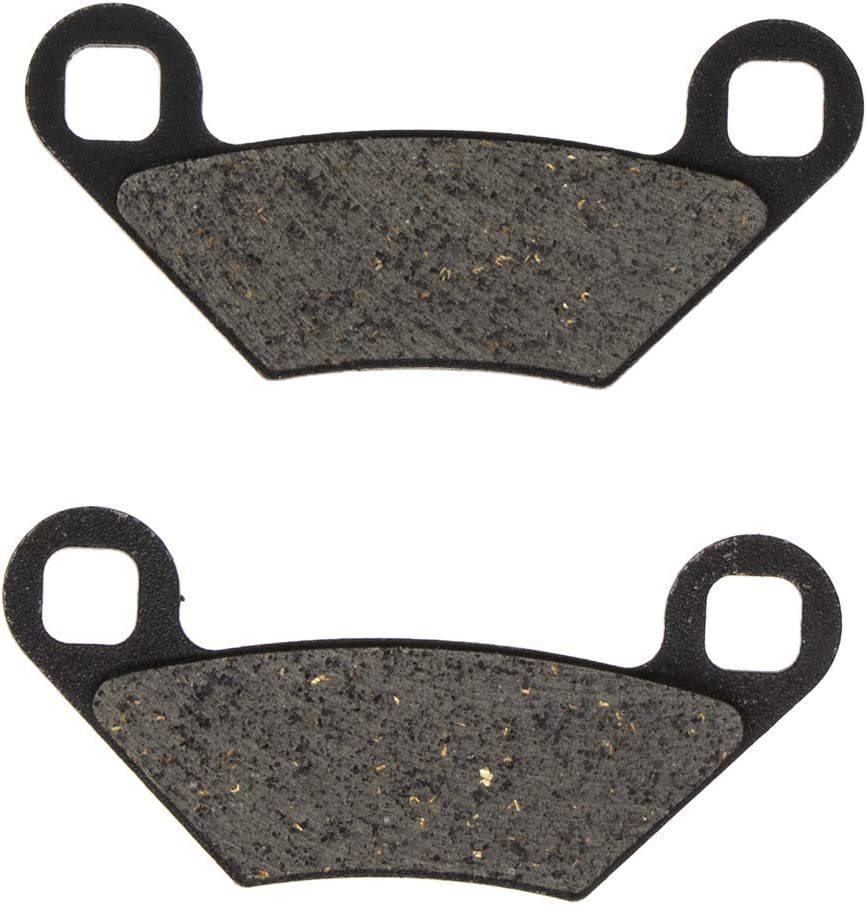 NICHE Rear Brake Caliper and Pad Kit For 2009-2017 2203628 2204088 1911415 Polaris Hawkeye Scrambler Sportsman SP XP