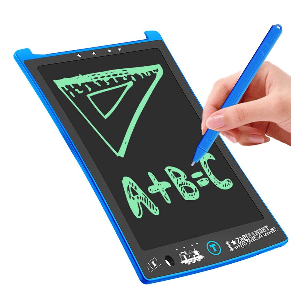 Hzna Electronic Graffiti Pad School and Office Drawing Board Gift Handwritten Painting Board Screen Clear (Blue) by Hzna