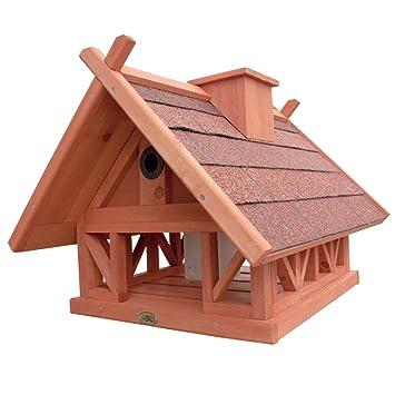 HABAU Island Birdhouse with Feeder and Perches