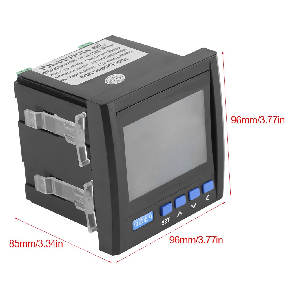 Electrical Testing AC 80-260V 100A CRS-022B LCD Display