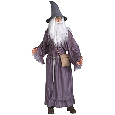 Amazon.com: Gandalf the Grey Adult Costume - Standard: Clothing