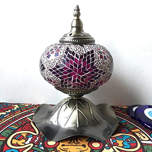 GHMOZ Lámpara de Mesa Lámpara de Mosaico Lámpara de Escritorio ...