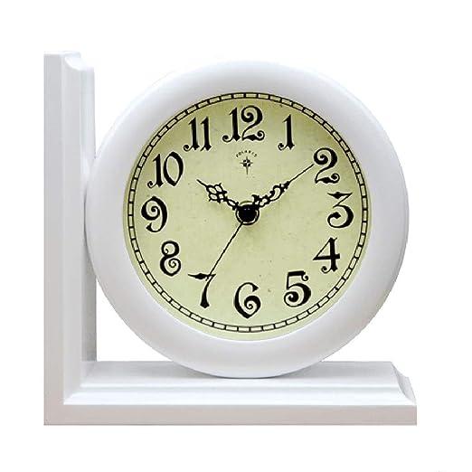Relojes de escritorio Adornos de Reloj Retro Decoración de Reloj ...