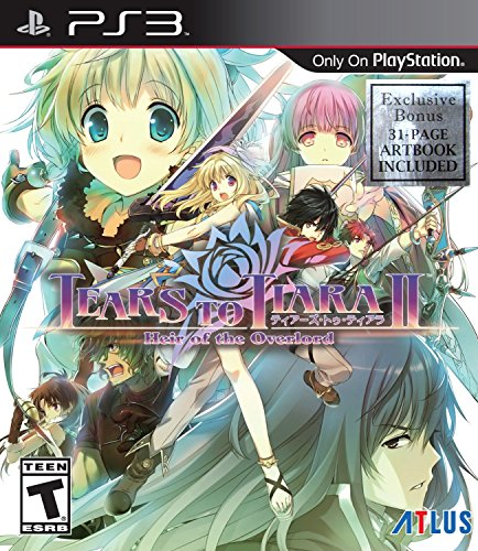 - Tears to Tiara II: Heir of the Overlord - PlayStation 3