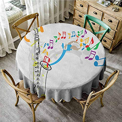 Round Tablecloth Topper 55