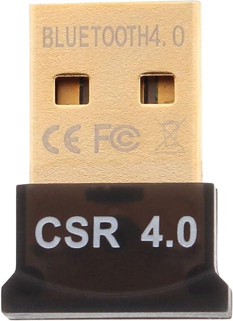 Mini USB Bluetooth 4.0 Adapters For Windows 7//8//10 XP Vista Mac OS Plug and Play