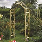Rustic Arch - Pressure Treated  Natur...