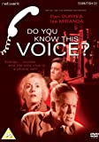 Do You Know This Voice? [DVD]