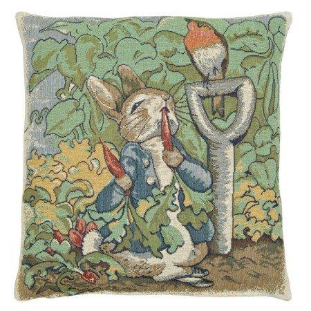 Peter Rabbit Beatrix Potter I European Cushion - Francisco Reading San Glasses