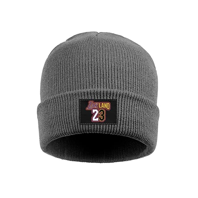 473a80ac SDHAK Lebron-Cool-James Woolen Beanie Hats Warm Slouchy Skull Cap for Men  Women