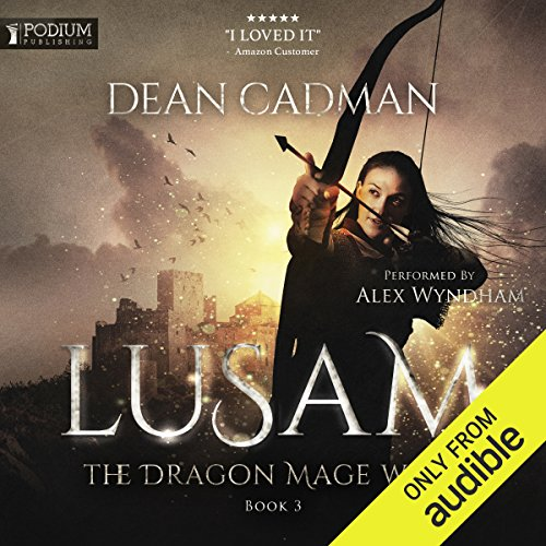 Lusam: The Dragon Mage Wars, Book 3