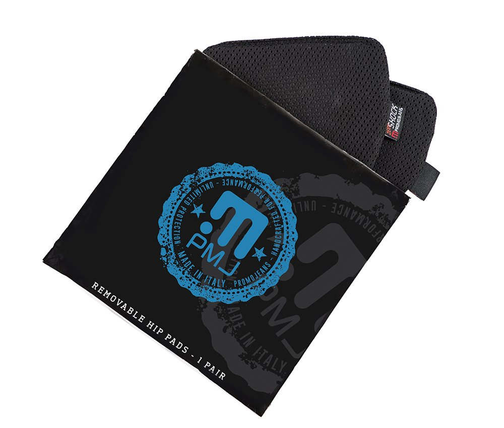 PMJ zero-shock protezioni fianchi, nero, taglia unica Promo Jeans ZER13