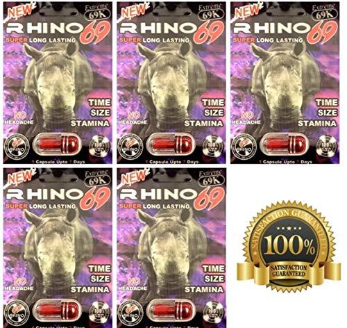 Rhino 69K Male Enhancement 5 Pills -