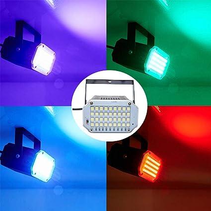 Car Interior Disco DJ 3 LED Light Strobe Lighting Stage Party Bar Music Dance