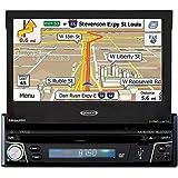 """Jensen VX7012, 7"""" DVD Navigation Receiver with Bluetooth"""