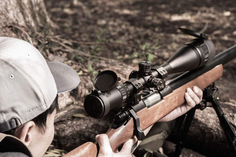 Barska AO IR Blackhawk Rifle Scope