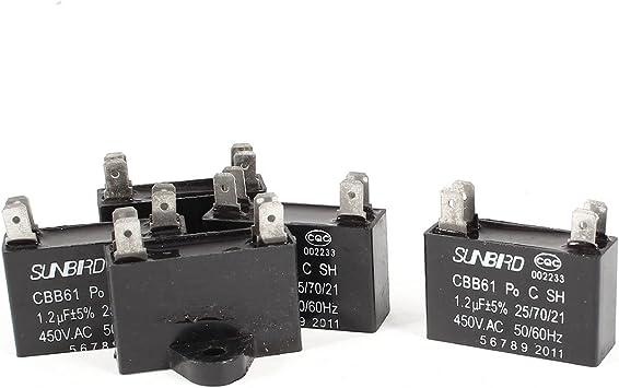 4 terminales de Condensador de Motor de Ventilador de Soldadura ...