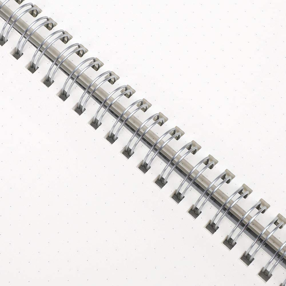 100 g//mq quaderno trasparente con copertina rigida per disegno Retacy confezione da 3 formato A5 college viaggi schizzi