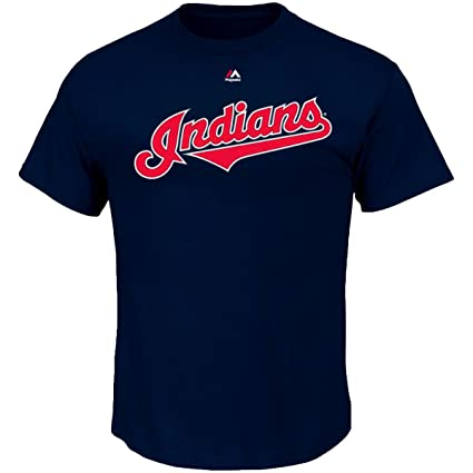 624bca631 Majestic Francisco Lindor Cleveland Indians Youth Navy Name and Number  Player T-Shirt Small 8