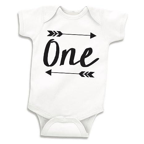 Amazon.com: Boy Camisa de cumpleaños, Baby Boy body de ...