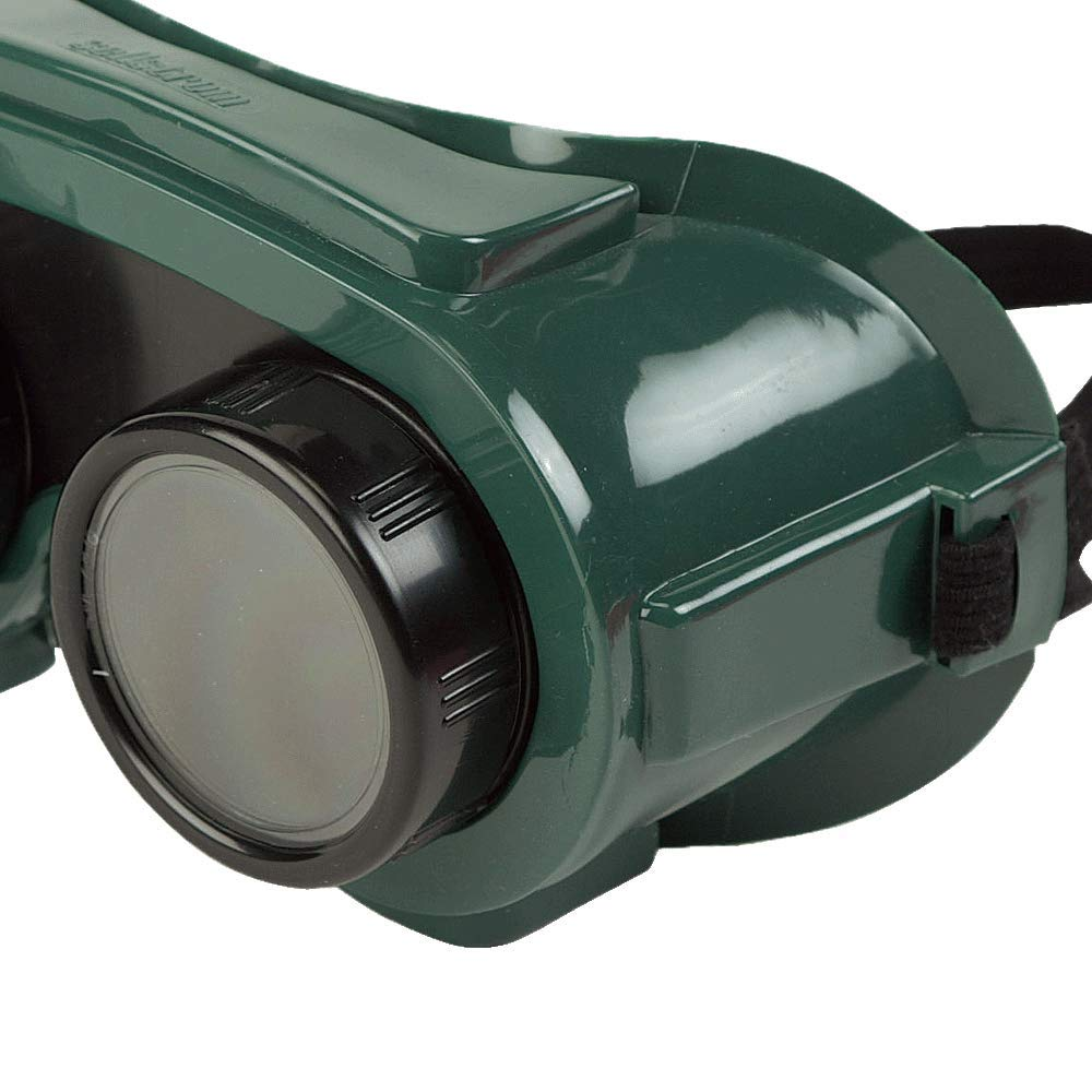 Plate Size: 2 x 4-1//4 Sellstrom Flexible Durable Shade 5 IR Lens S85450 Soft PVC Shade 5 IR Lens Indirect Vent Plate Welding Goggle Body Green